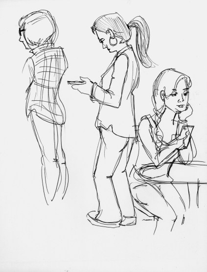Cafe Sketches 2