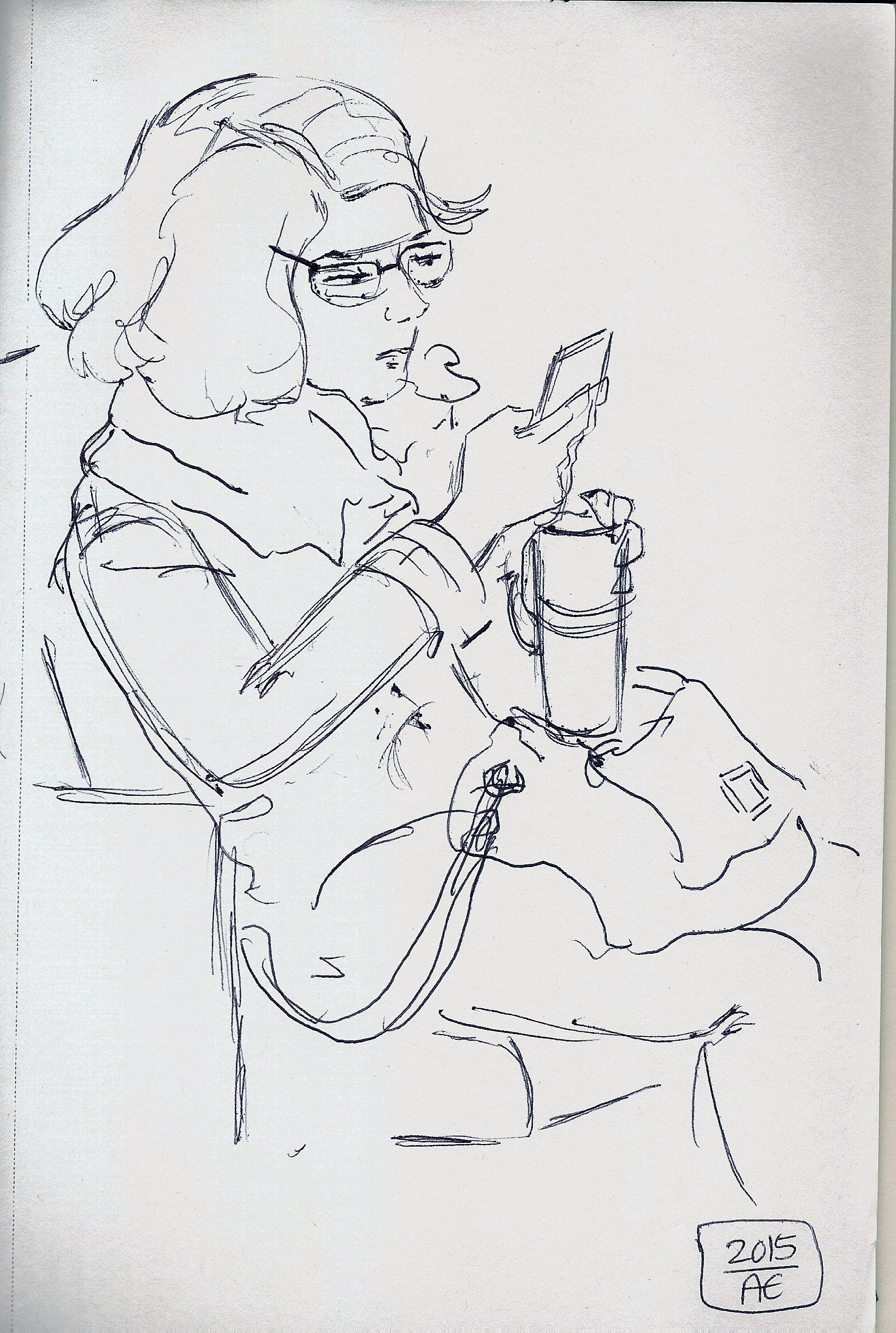 life drawing, sketchysoul, sketch of the day, Angela Entzminger