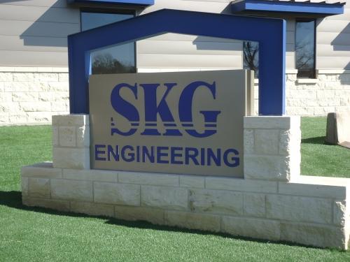 SKG sign smaller