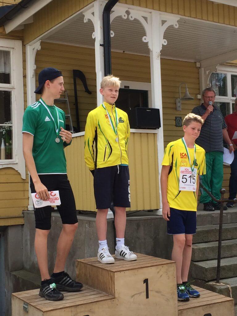 Oskar och Elias som etta och trea i P16!