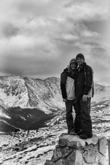 5-Alex Rollinson_Alex and Kelly at Loveland Pass