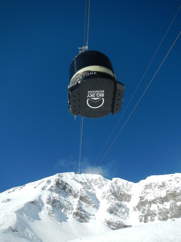 Big Sky Lone Peak tram