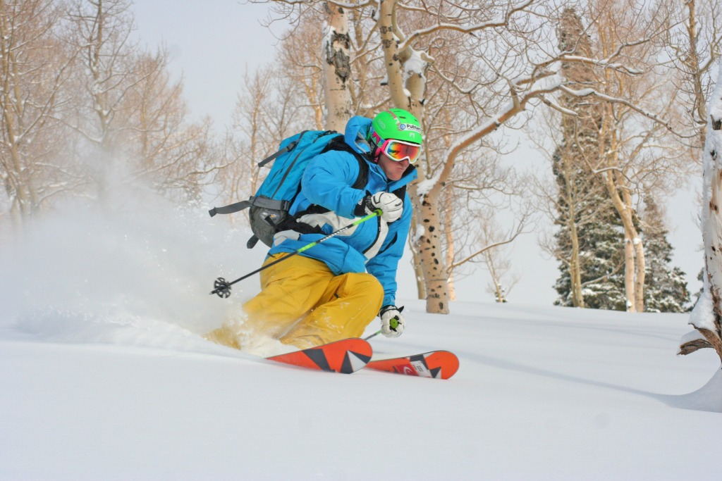 Ted Ligety at Park City Mountain Resort