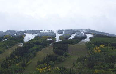 First Snow at Vail, Early Snowfall Vail, Vail Snow Lionshead