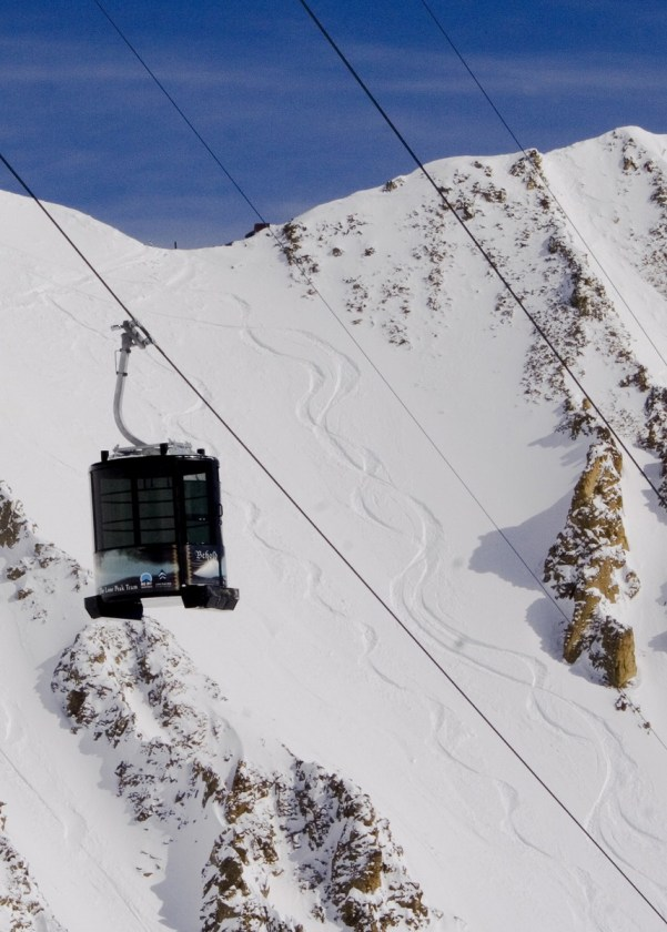 Big Sky Resort Lone Peak Tram, Big Sky Lone Peak Tram photo
