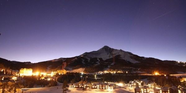 Big Sky Resort at Night, Big Sky Night photo