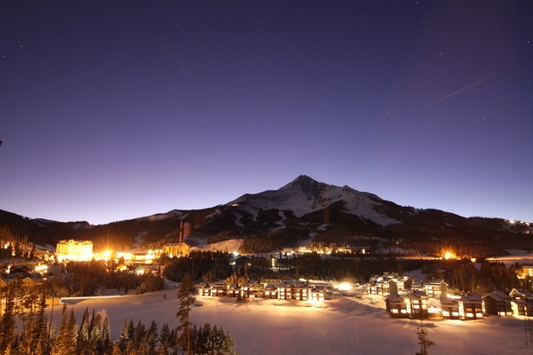Big Sky Resort at Night, Big Sky Night photo