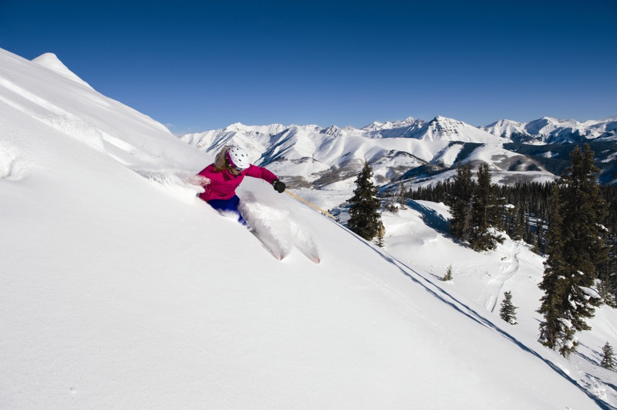 Wendy Fisher Big Mountain Skier Crested Butte