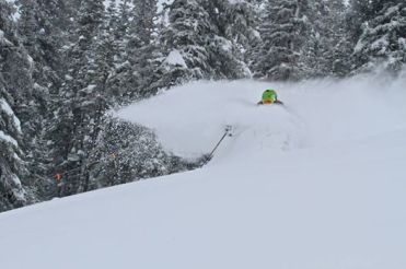 Crested Butte powder day, Crested Butte snow storm, Crested Butte snow