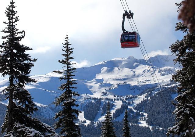 Whistler's Peak 2 Peak Gondola
