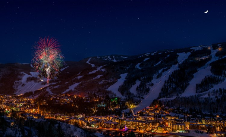 Vail New Year's Eve Fireworks, Vail NYE Fireworks, Vail Fireworks