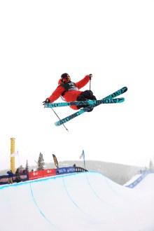 Gus Kenworthy, of Telluride, freeskiing halfpipe finals 2013 Visa U.S. Freeskiing Grand Prix at Copper Mountain Photo: Sarah Brunson/U.S. Freeskiing