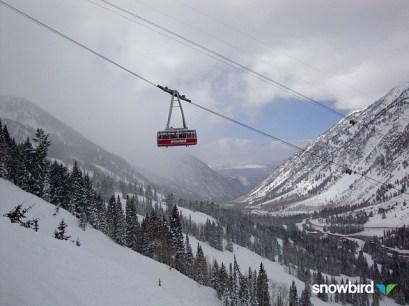 Snowbird tram
