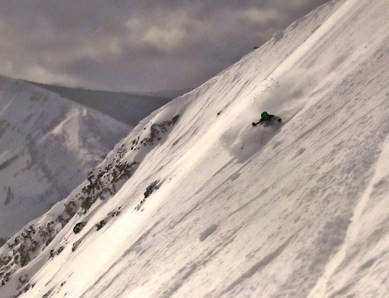 Steep and deep at Big Sky