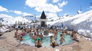 Squaw Valley High Camp Hot Tub