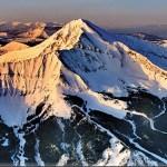 Longest lift-served vertical descents at North American ski resorts
