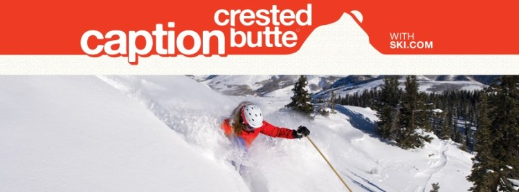 Caption Crested Butte