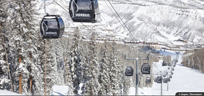 Snowmass offers 4,406 vertical feet of rope tow-served terrain.