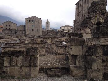 Aosta's Roman ruins date back to 25 B.C.