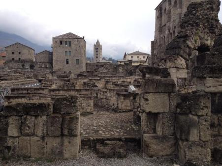 Aosta's Roman ruins date back to 25 B.C.