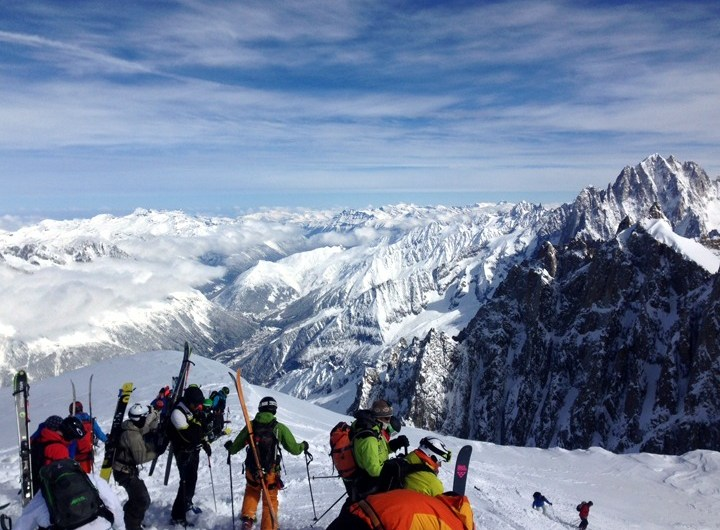 Vallee Blanche hike