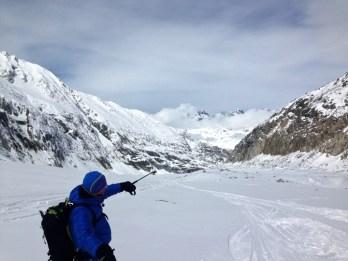 Vallee Blanche ski guide