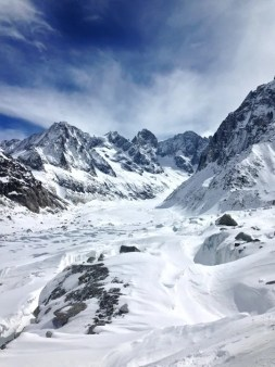 Vallee Blanche view
