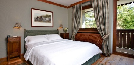 Cervinia's Hotel Hermitage provides five-star service and elegant rooms with incredible views of the Matterhorn and surrounding peaks.