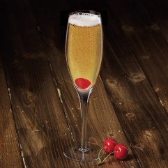 Bubbles up! The Heart Brecker features Breckenridge Bourbon.