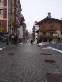 Downtown Cervinia