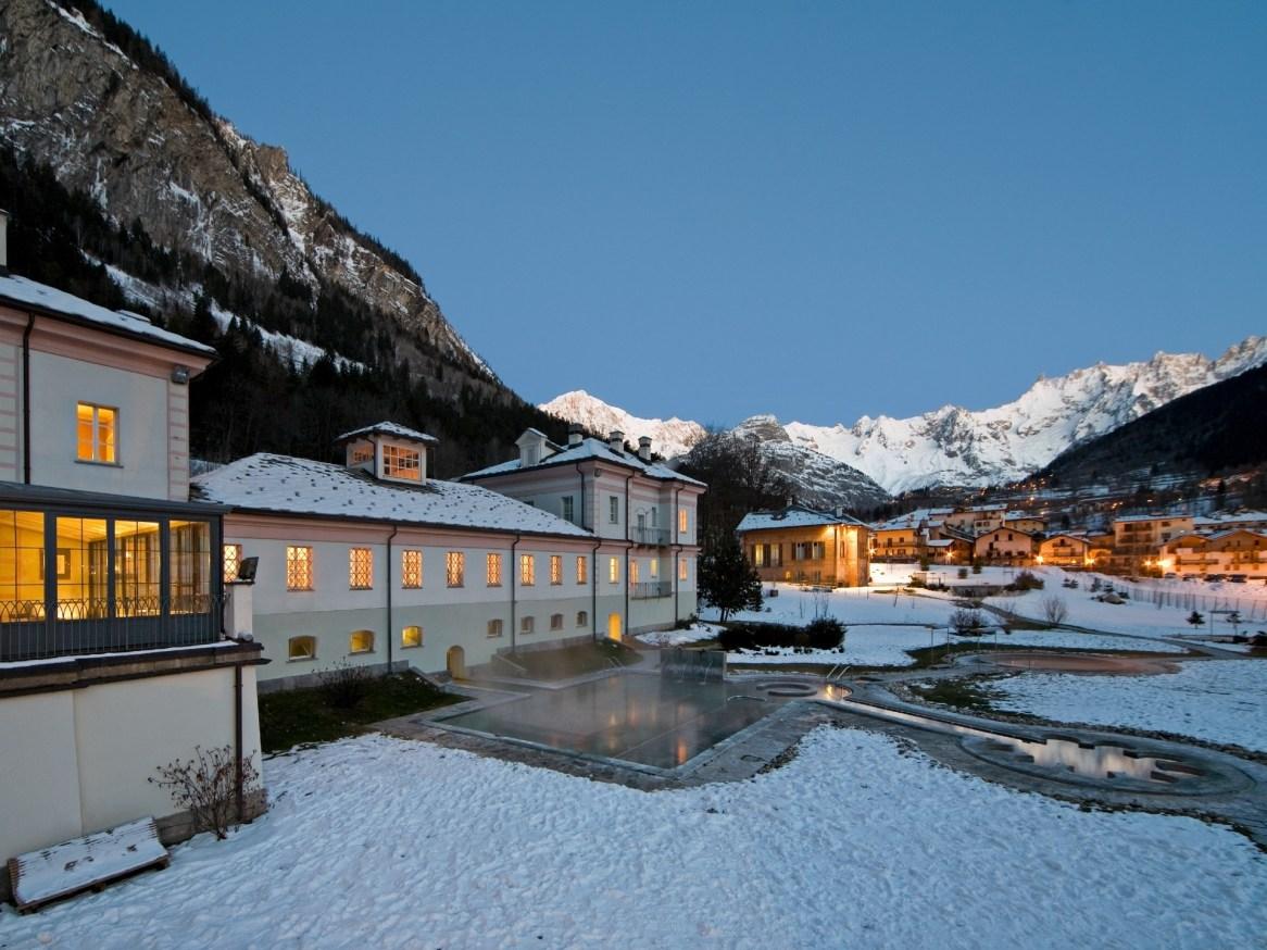 QC Terme thermal spa in Pre-Saint-Didier