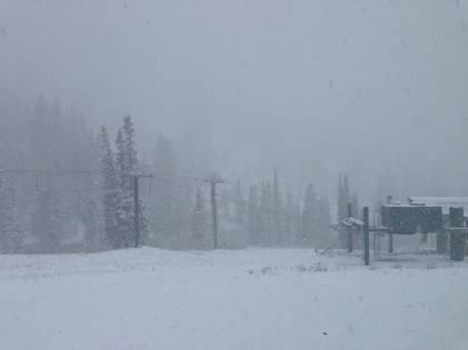 Alta snow in June