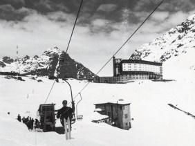chairlift ski Portillo