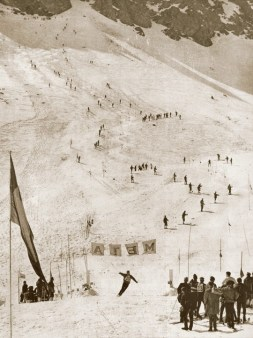 ski racers Portillo 1966