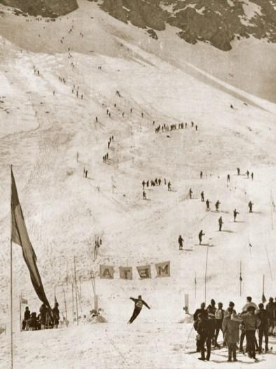 ski racers Portillo 1966