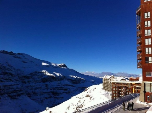 Valle Nevado snow