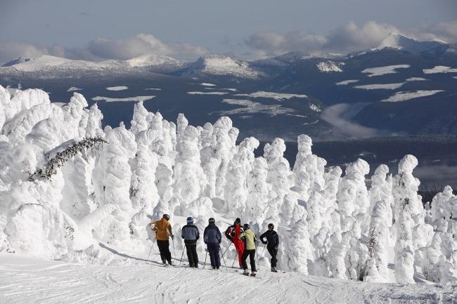 Big White skiing, Big White terrain