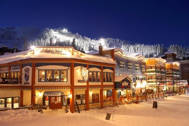 Silver Star ski in, ski out lodging