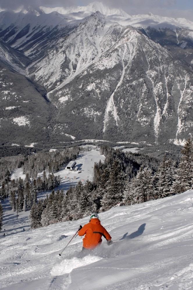 Panorama 4,000 vertical descent