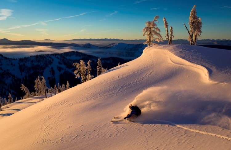 Whitewater receives 40 feet of snow annually
