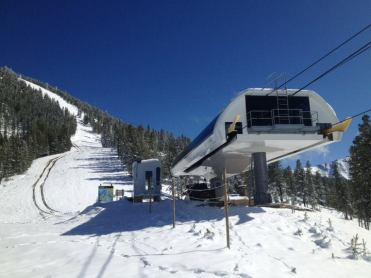 Panorama ski resort vertical drop
