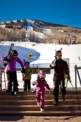 Snowmass offers an array of reasonably priced, slopeside condos, perfect for families or those looking to save on their ski vacation. pc: Aspen Snowmass