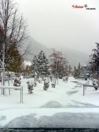 St. Anton snowscape on Oct. 22