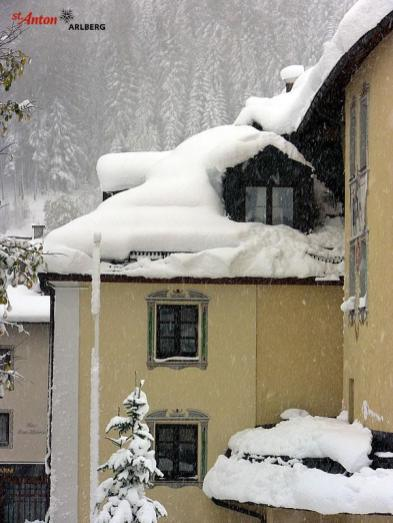 St. Anton snow totals were big, Oct. 23