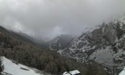 Zermatt as the storms rolled through on Oct. 22