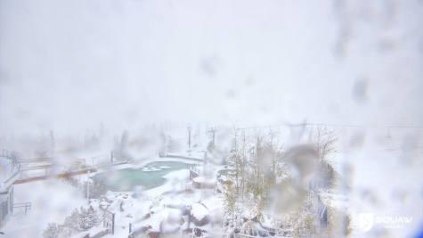 October snow at Squaw