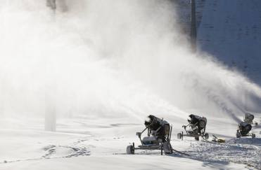 Vail is running snowguns and preparing for their Nov. 20, 2014 opening.