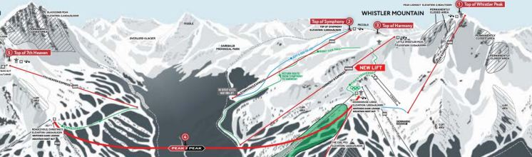 Wonder Routes Top of the World Whistler Blackcomb