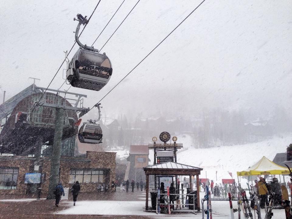 Telluride snow, Telluride ski resort, how much snow did Telluride ski resort get?