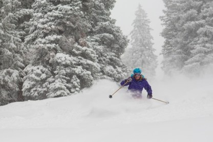 The weekend storm brought 14 inches of snow to Snowmass' slopes, 11 inches to Aspen Mountain and Buttermilk and 10 inches to Aspen Highlands. pc: Jeremy Swanson/Aspen Snowmass